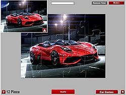 Ferrari Berlinetta Jigsaw
