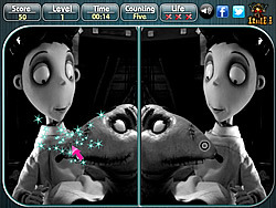 Frankenweenie – Spot the Difference
