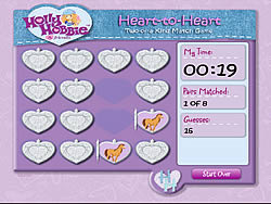 Hollie Hobbie and Friends – Heart to Heart: Two of A Kind Match Game