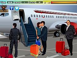 Kissing at the Airport