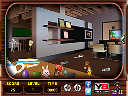 Messy Rooms Hidden Objects