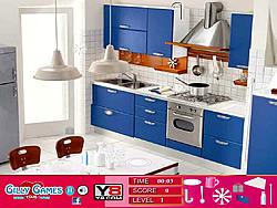 Modern Blue Room Hidden Objects