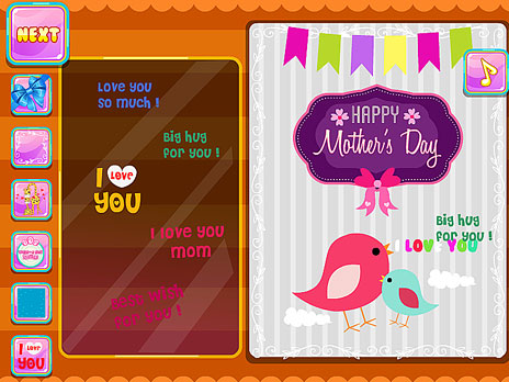 Mother's Day Card Decor