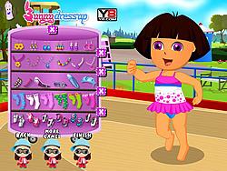 Pretty Dora Skating