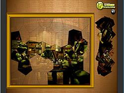 Puzzle Madness – Ninja Mutant