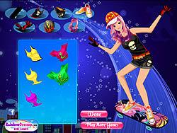 Skateboard Girl Dress Up