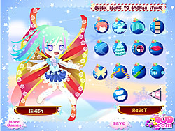 Snow Fairy Dressup