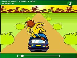 The Lion at the Car