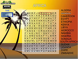 Word Search Gameplay 5 – Africa