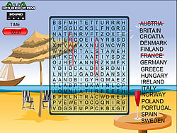 Word Search Gameplay 7 – Europe