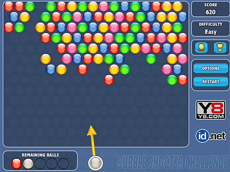 Bubble Shooter Challenge
