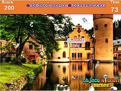 Famous House Hidden Alphabets