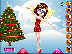 Christmas Fairy Dress Up Game